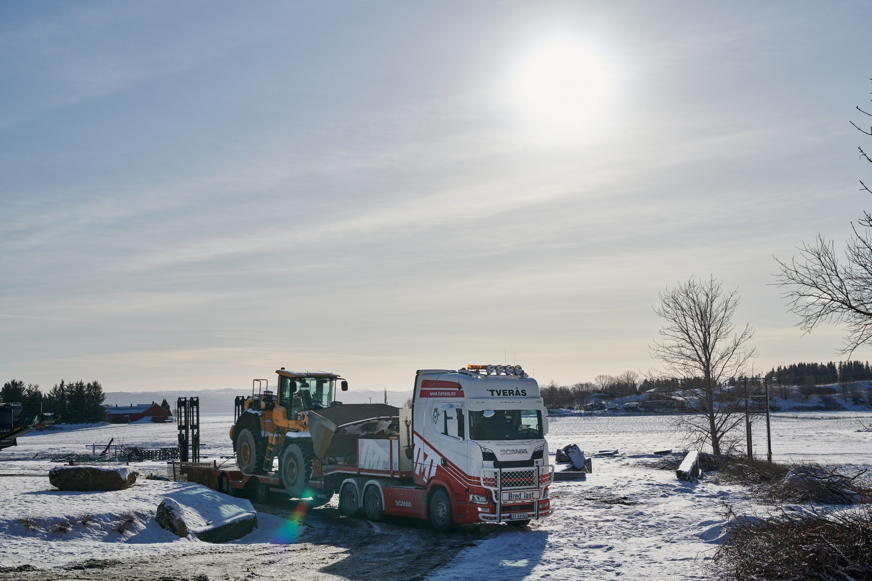 Scania sneeuw